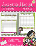 Accelerated Reader..Weekly Goal Setting, Test Log, Book Ra