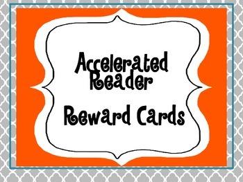 Accelerated Reader Reward Cards