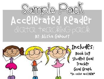 Accelerated Reader Student Data Tracker Packet [Free Sampler]