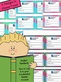 Accelerated Reader - Student Log In Cards