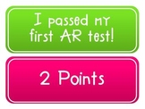 Accelerated Reader Student Point Tracker