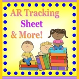 Accelerated Reader Tracking Sheet & More!