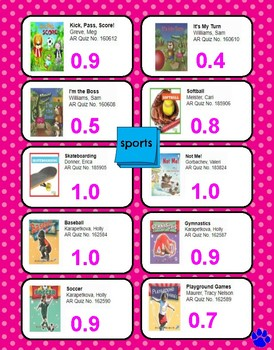 Accelerated Reader Using Epic!: Water/Sports Themes