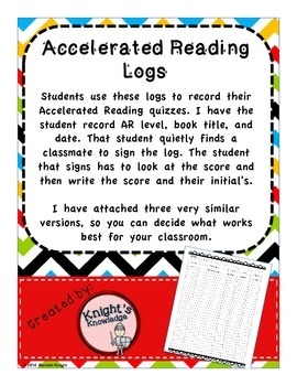 Accelerated Reading Logs
