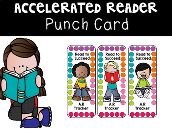 Accelerated Reading Bookmark and Punch Card