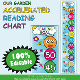 Accelerated Reading Clip Chart in Flower & Bugs Theme - 100% Editable