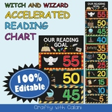 Accelerated Reading Clip Chart in Witch & Wizard Theme - 100% Editable