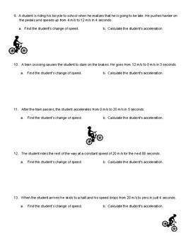 Acceleration Assignment