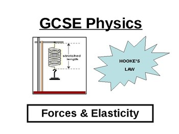 Hooke's Law Worksheets & Teaching Resources | Teachers Pay