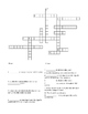 Acceleration Math Problems and Crossword