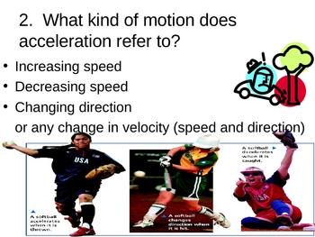 Acceleration PowerPoint Presentation