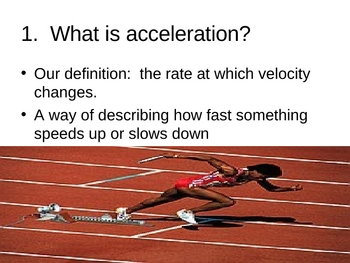 Acceleration PowerPoint Presentation