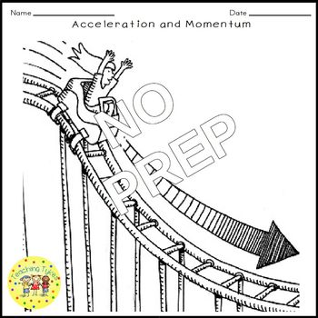 Acceleration and Momentum Crossword Puzzle