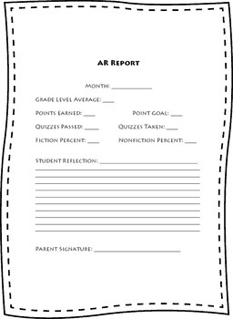 Accelerated Reader Report