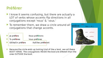 Accent Changer Verbs PPT (Bien Dit 1 Ch 4)