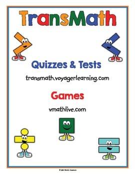 Math Websites Classroom Posters