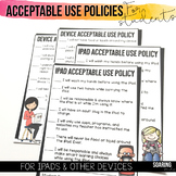 Acceptable Use Policies to Teach Digital Citizenship | For