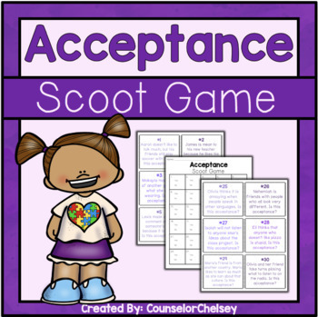 Acceptance Scoot Game
