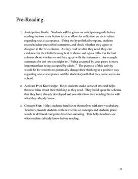 Acceptance Text Set: Grades 6-12