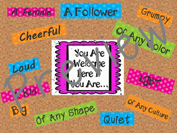 Acceptance and Diversity Bulletin Board