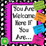 Acceptance and Diversity Bulletin Board Classroom Decor