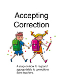 Accepting Correction Social Story