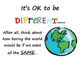 Accepting Differences Poster