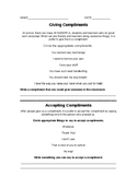 Accepting and Giving Compliments