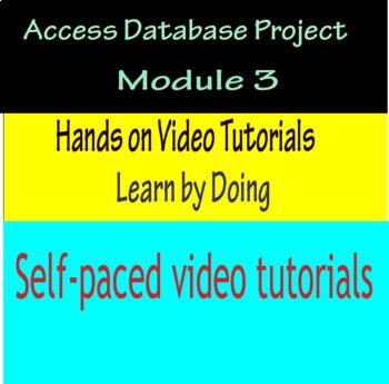 Access Database Project Module 3
