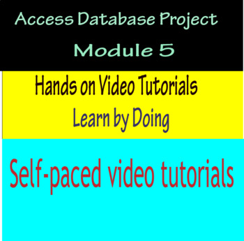Access Database Project Module 5