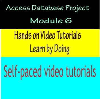 Access Database Project Module 6
