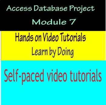 Access Database Project Module 7