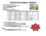 Access - Table, Query & Report (US PRESIDENTS)
