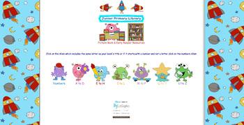 5,000+ PreK-6 Book Resource Links inc Printables Art Games
