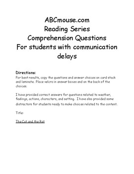 Accessible Comprehension