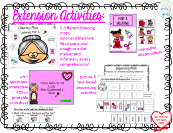 Accessible Old Lady Who Swallowed a Rose: Communication, Comprehension, Fun!