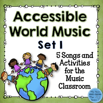 Accessible World Music Set 1