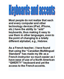 Accessing French (and other WL Accents) and Int'l Keyboard