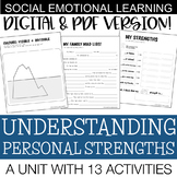 Personal Strengths | Social Emotional Skills Unit | Middle