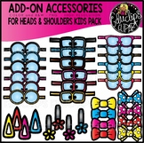 Accessory Pack - for Kids Heads & Shoulders Sets {Educlips