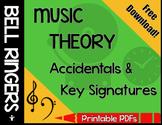 Accidentals & Key Signatures Bell Ringer