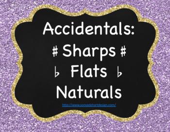 Accidentals sharps flats and naturals. Enharmonics
