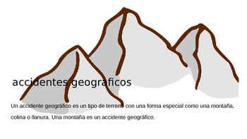 Accidentes Geograficos