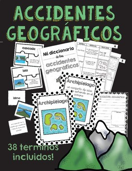 Accidentes geográficos/Landforms in Spanish