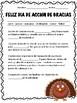 Acción de Gracias. Spanish Thanksgiving activities.