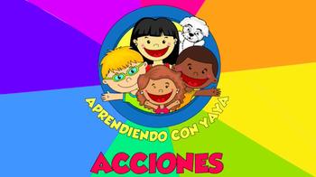 Acciones-Canción Animada (Spanish)