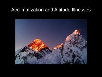Acclimatization and Altitude Illnesses