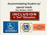 Accomidating Students w/ Disabalities, Disability Social Rights Movement?