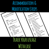 Accommodation and Modification Strips