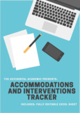 Accommodations and Interventions Tracker